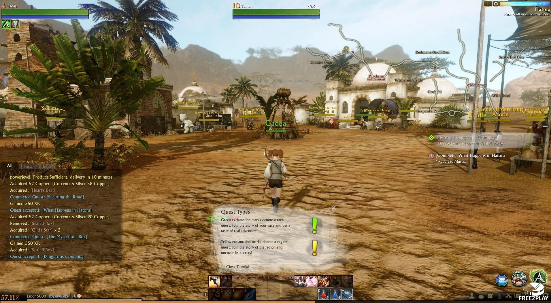 archeage free to play