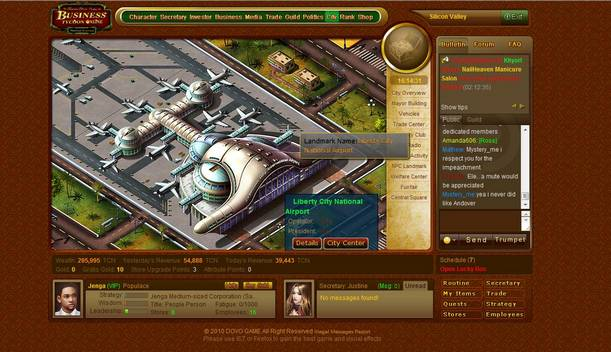 Business tycoon online free2play business tycoon online for Business tycoon