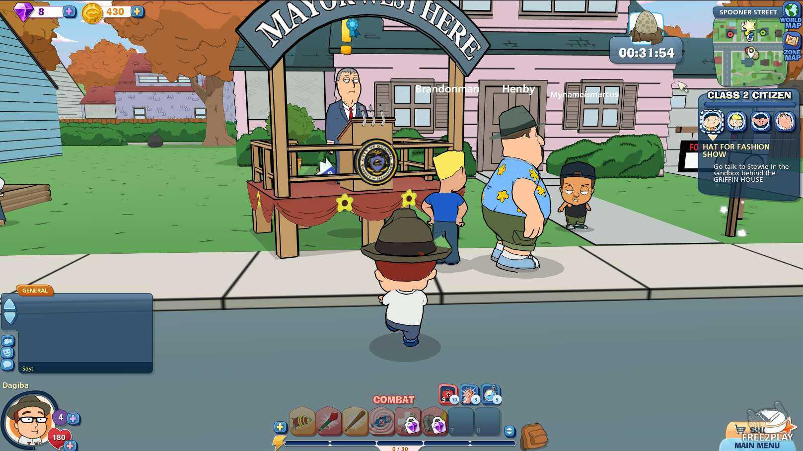 Family Guy Games Online Free