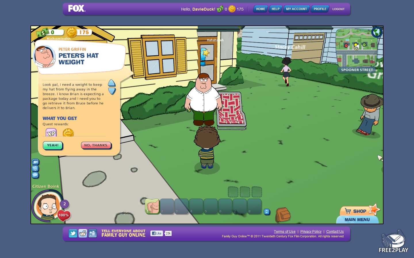 play family guy for free online