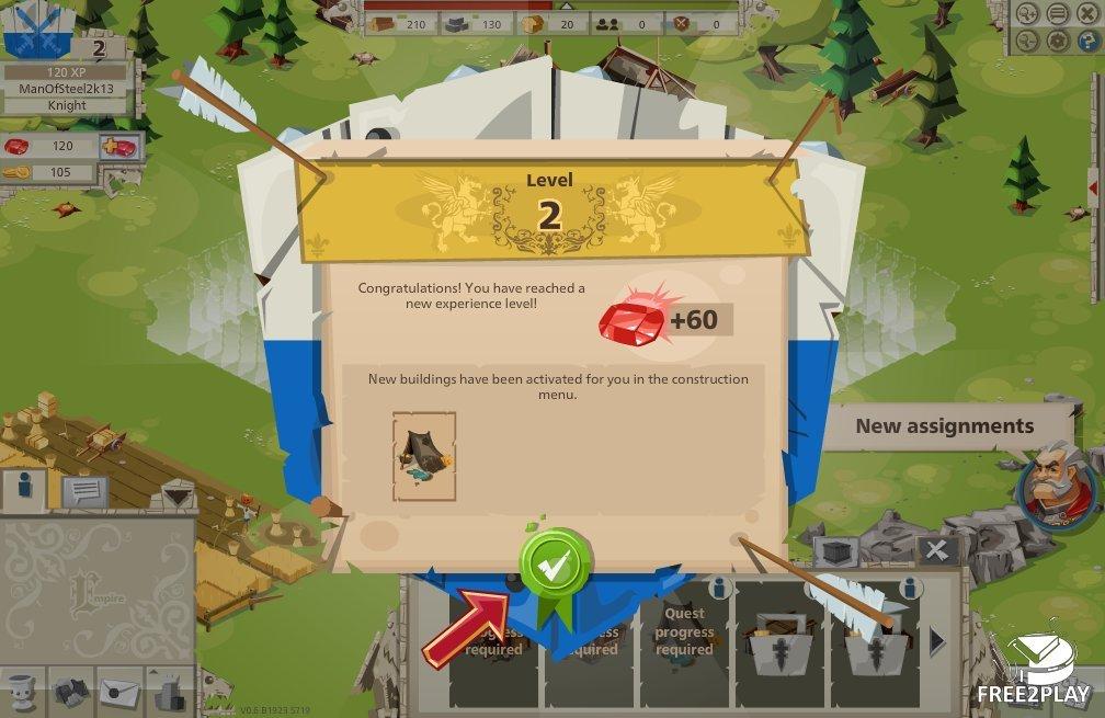 goodgame empire level