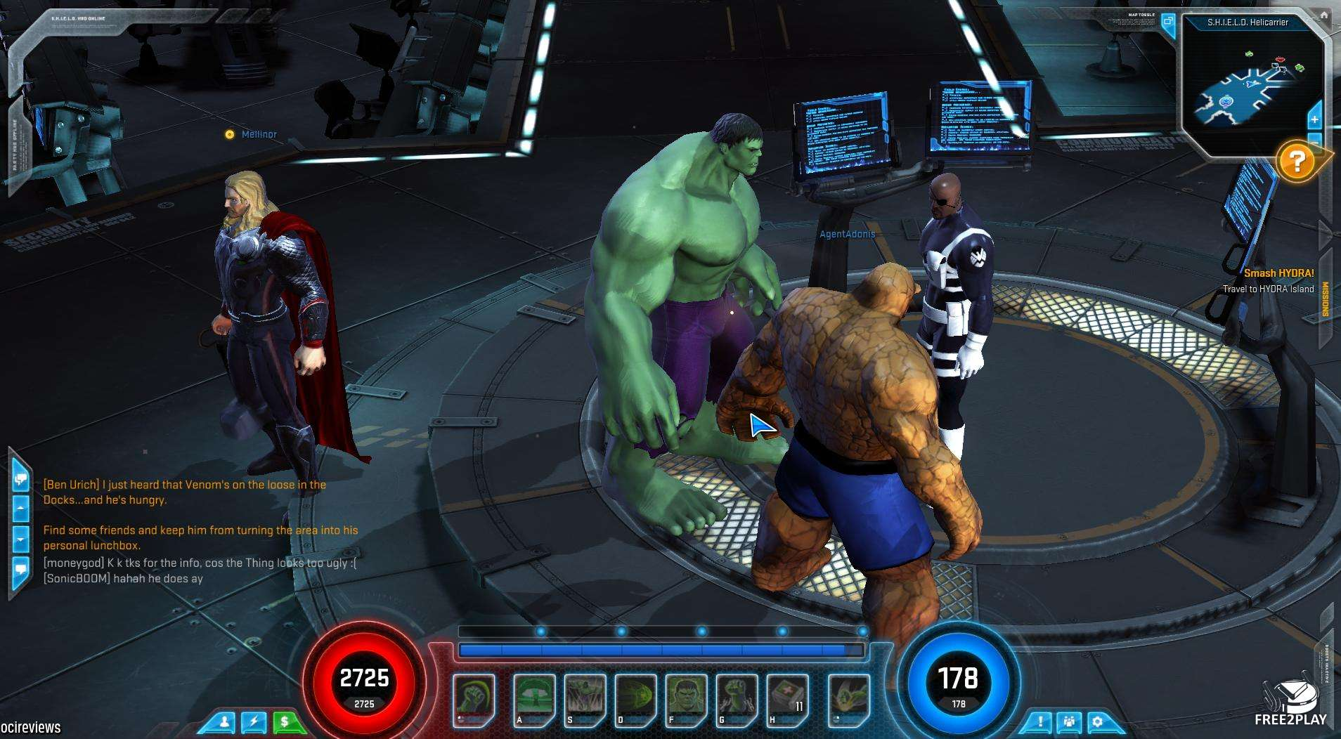 marvel heroes games play online