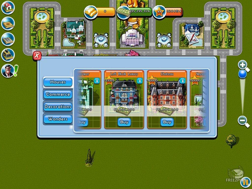 play free millionaire city