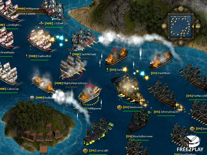 sea fight game
