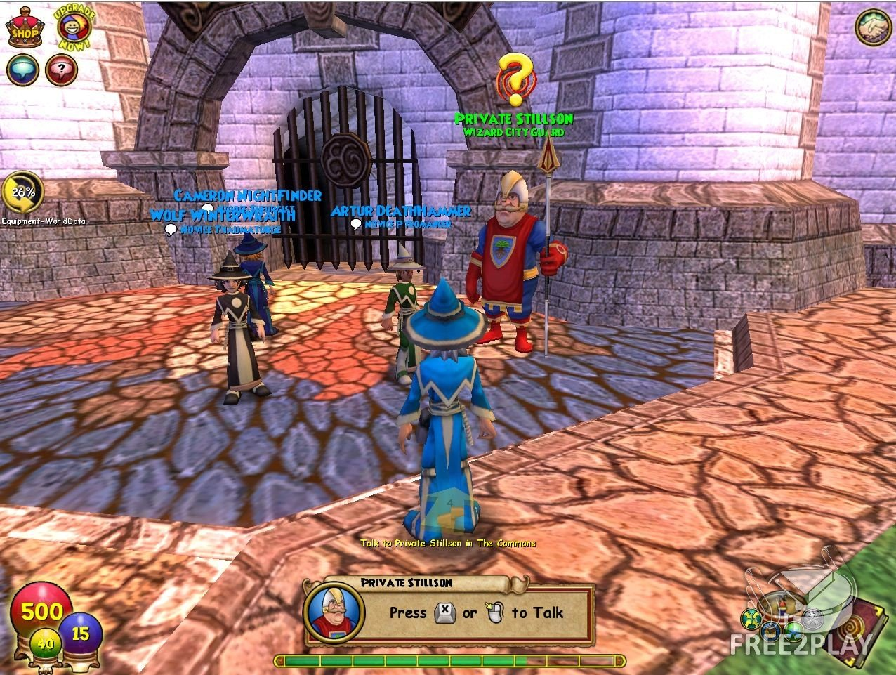 wizard101 wizard game
